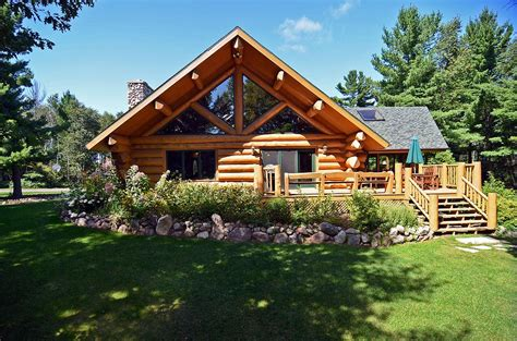 Wisconsin Log Cabin Rentals by Secluded Northern Wisconsin Log Home Vacation Rental