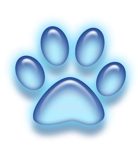 how to a not to paw at you free icon paw blue by littellionbigroar on deviantart