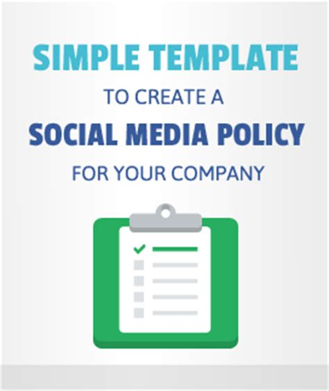 Simple Social Media Policy Template Social Media Policy Template Free 171 Hirerabbit Social Recruiting Blog