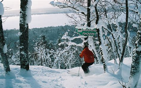 Pine Knob Ski Rates by Slopes Trails Abound In Michigan S Peninsula