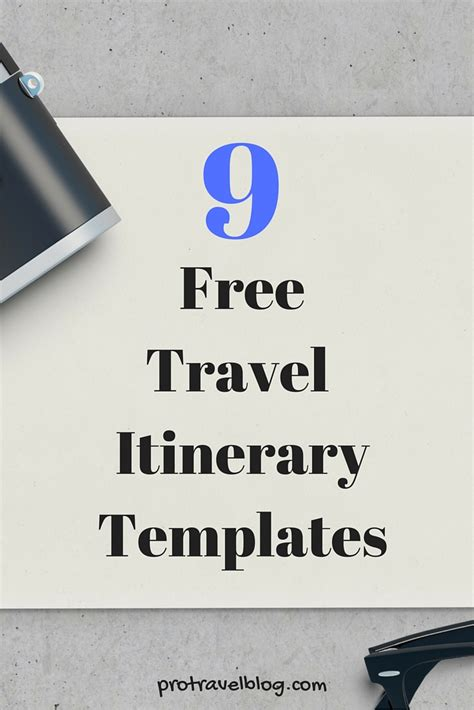 free travel templates 9 useful travel itinerary templates that are 100 free