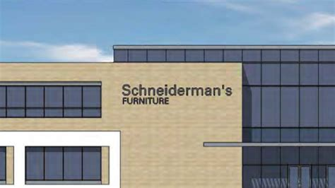 Schneiderman S Furniture by Schneiderman S Furniture Plans Two Level Showroom In