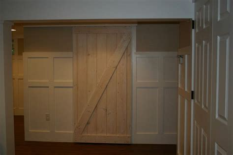 Track Closet Doors by Beautiful Closet Door Track On Sliding Closet Barn Door