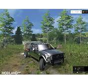 Ford F350 Diesel Street Dually Stacks Black Mod For