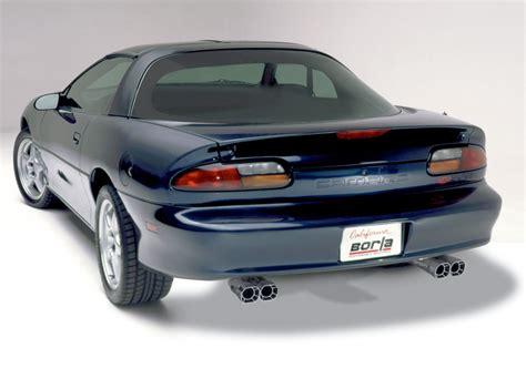 98 camaro exhaust best exhaust borla camaro ss z28 trans am firebird