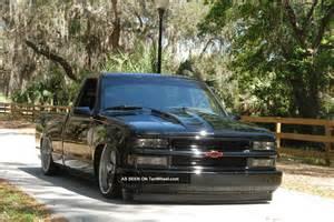 Chevrolet Silverado Lowered 1988 Chevrolet Silverado 1500 Bagged Lowered Custom Hotrod