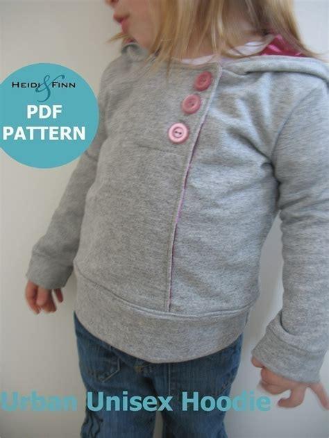 pattern hoodie urban unisex hoodie pattern and tutorial 6m 5t pdf
