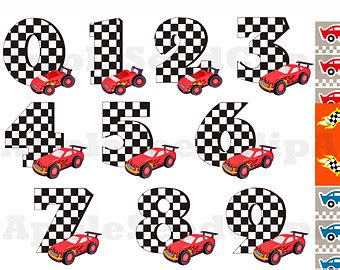 free printable race numbers race car numbers clipart 27