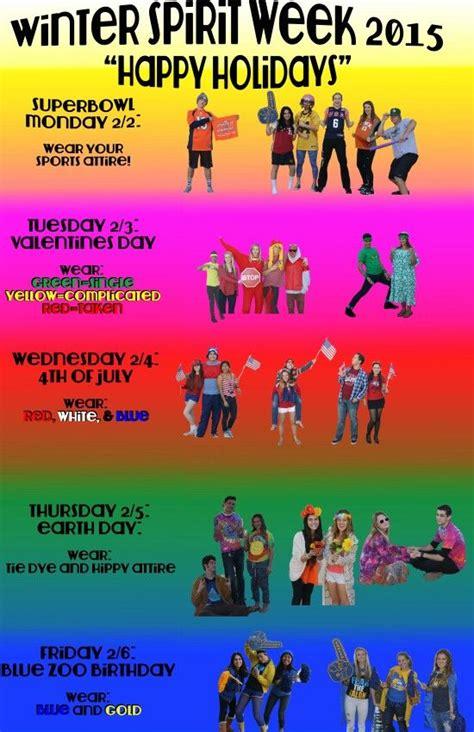 themes for college day arroyo grande high school spirit week poster school