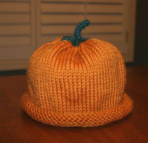 free knitting pattern hat pinterest free pattern for knitted pumpkin hat knitting