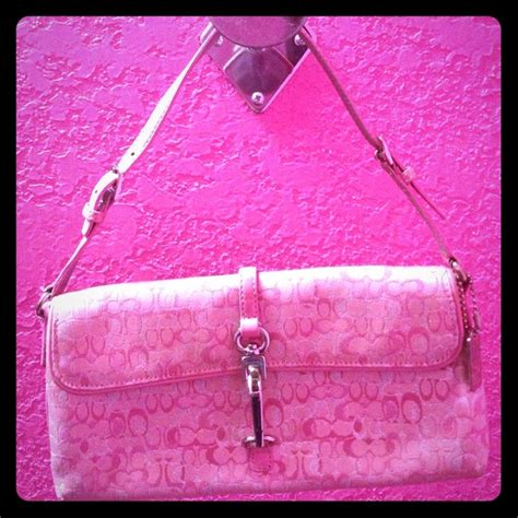 Light Pink Coach Purse by Coach Light Pink Coach Purse From Robyn S Closet On