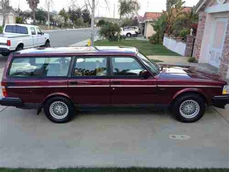 buy   volvo  wagon classic beautiful condition california car