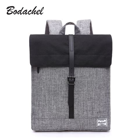 Tas Laptop Stylish bodachel oxford backpack travel notebook laptop