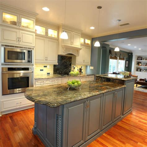 blue kitchen island home design ideas top blue kitchen island colors for