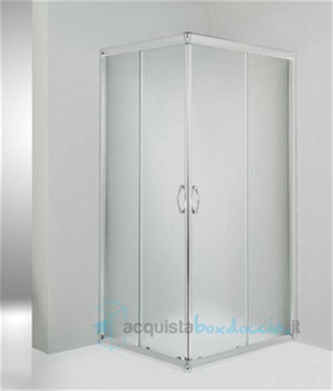 box doccia angolare 75x75 box doccia angolare porta scorrevole 75x75 cm opaco