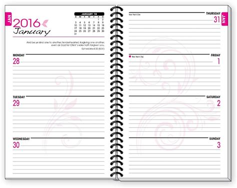 my daily ascesis a planner for christians following the ancient tradition books 2016 pink inspirational christian daily planner january to