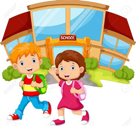 bambini clipart walking to school clipart 101 clip