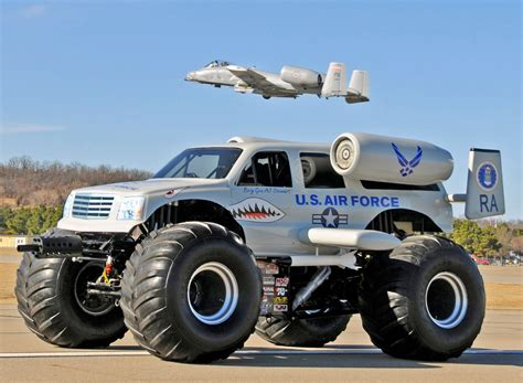 big monster trucks the big stuff blog big air force monster truck