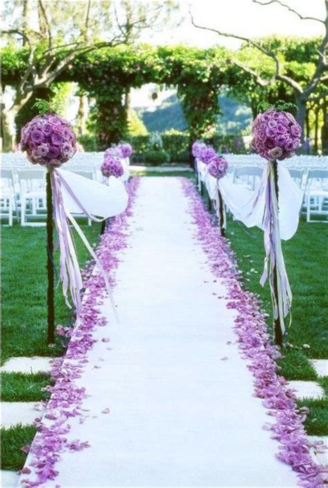 Lavender Wedding Aisle Runner by Aisle Runners And Purple Wedding On