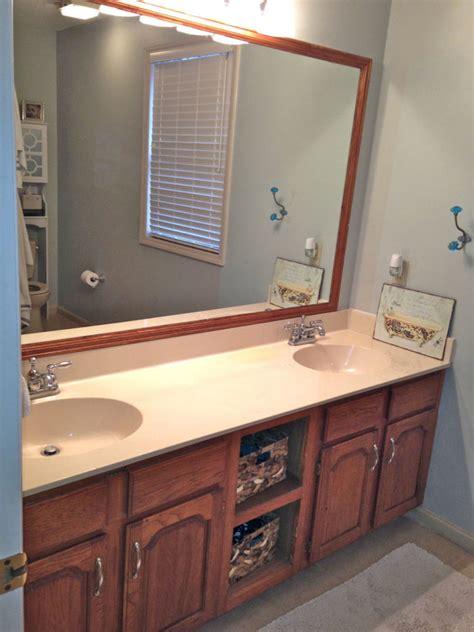 Sloan Bathroom Vanity - bathroom vanity makeover with sloan chalk paint