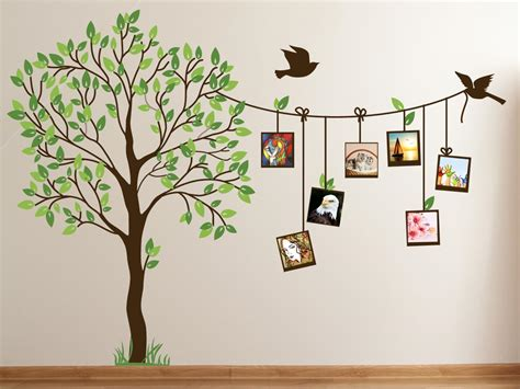 Tree Murals For Walls cute family tree wall decal paint for bedrooms family