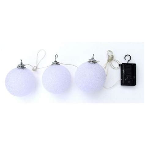 Solar String Lights Home Depot trendscape solar led balls string lights gx 5024 3pk