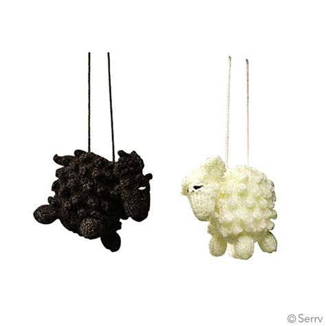 christmas ornaments sheep ornament set