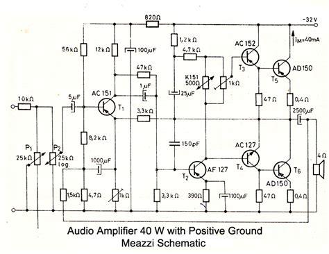 germanium transistor lifier schematic diagramas lificadores p 225 74