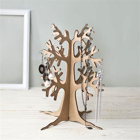 Eco Bottle Stand Many Stock eco tree jewellery stand by wooden gallery