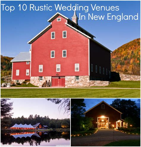 rustic wedding venues in maine top 10 rustic wedding venues in new rustic