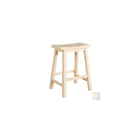 White Coloured Stools by Shop Powell Color Story White 24 In Counter Stool At