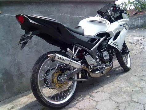 gambar modifikasi rr mono 150 jari jari drag airbrush racing look jadi trail touring