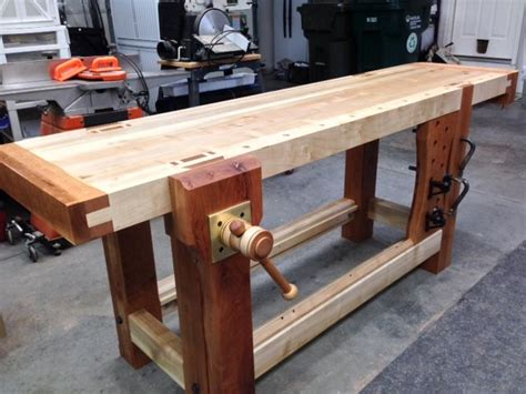 work bench leg roubo bench with criss cross leg vise by cl810