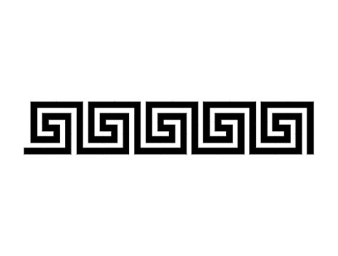 Greek key 1 dxf File Free Download - 3axis.co Q Bubble Letter