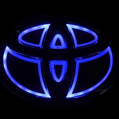 toyota camry logo new car 5d rear front badge emblem logo light for