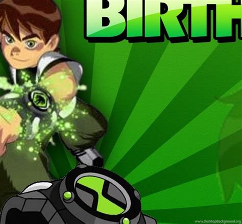 Ben 10 Birthday Photoshop Template 171 Coldfiredsgn Desktop Background Ben 10 Birthday Invitation Cards Templates