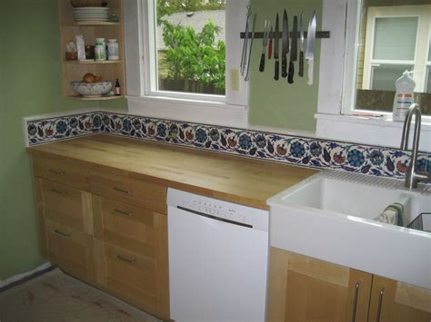 hand painted tiles for kitchen backsplash hand painted tile backsplash home pinterest