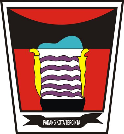 lambang kota padang kumpulan logo indonesia