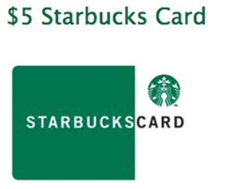 Starbucks Gift Card Paypal - sign up for at t alerts get free 5 starbucks card plus enter to win 50 visa gift card