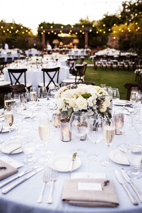 Romantic Wine Country Wedding   Wedding Tables & Table