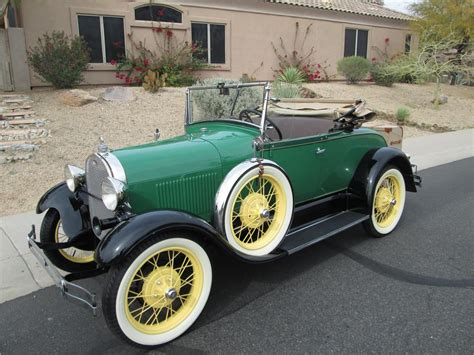 a ford 1929 ford model a roadster 170385