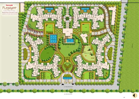 site plan site plan parsvnath pleasant