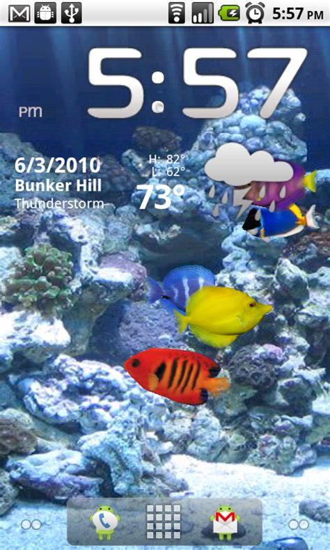 live wallpaper barcelona android android quick app aquarium live wallpaper android central