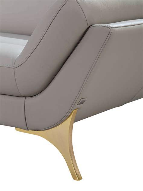 ratan sofa 1541 fresh divani casa modern white leather sectional