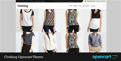 themes of clothing clothing opencart theme by ravig themeforest