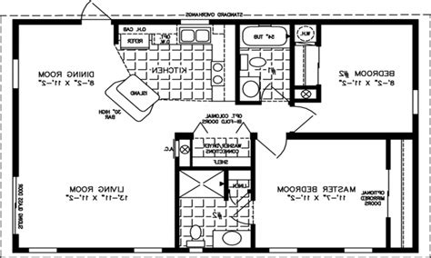800 sq ft house floor plans for 800 square foot homes