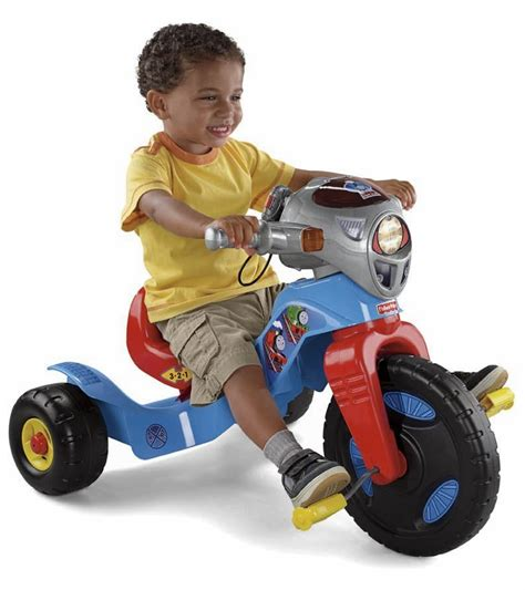 lights and sounds trike fisher price lights sounds trike thomas the train