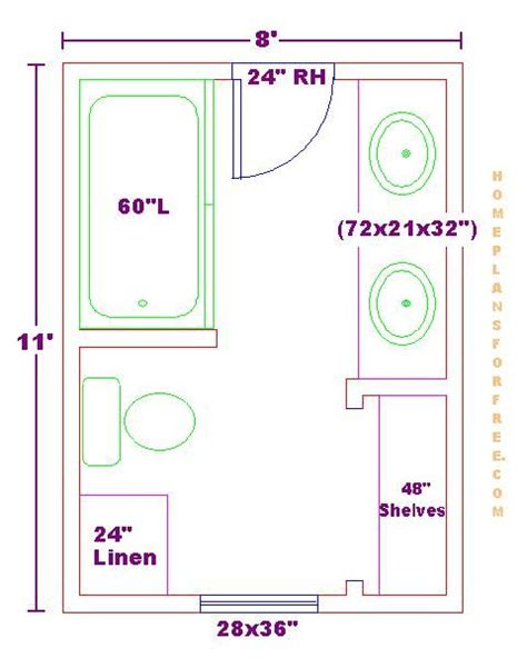 bathroom floorplans modify this one 8x11 bathroom floor plan with bowl
