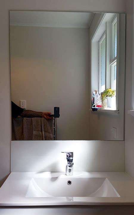 mirrors splashabcks modern bathroom mirrors glass splashback services in wellington absolute glass
