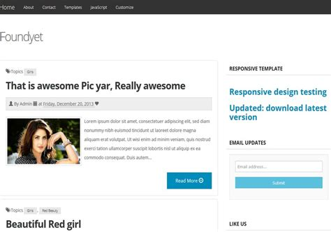blog themes with ad space foundyet responsive blogger template 2014 free blogger